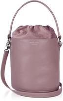 Meli-Melo Mauve Leather Santina Mini Bucket Bag