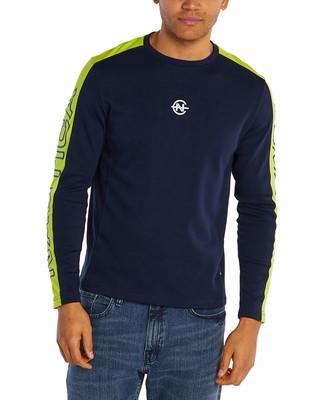Nautica Men's Long Sleeve Crew Neck Competition T-Shirt