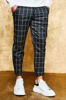 Boohoo Check Tailored Trousers