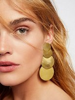 Sibilia 4 Moons Disc Earrings by at Free People