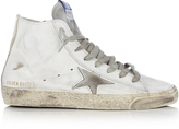 Golden Goose Deluxe Brand Francy high-top leather trainers