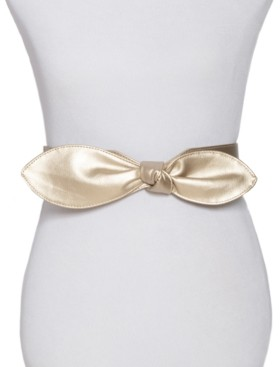 INC International Concepts Inc Wide Bow Stretch Belt, Created for Macy's