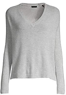 ATM Anthony Thomas Melillo Women's Cashmere V-neck Sweater