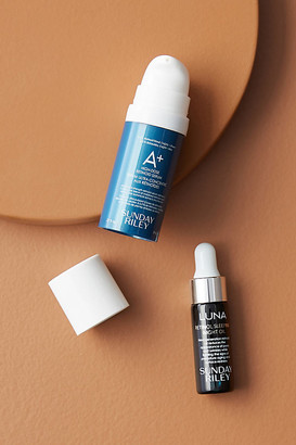 Sunday Riley Retinol + Repeat Mini Kit By in Blue Size ALL