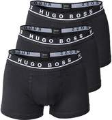 HUGO BOSS BOSS Cotton Stretch Trunk (3 Pack)