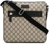 Gucci GG Supreme messenger bag - men - Leather/Polyurethane - One Size