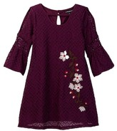 My Michelle mymichelle Embroidered Lace Dress (Big Girls)