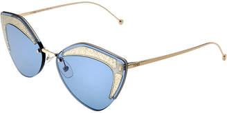 Fendi Women's Ff0355/S 66Mm Sunglasses