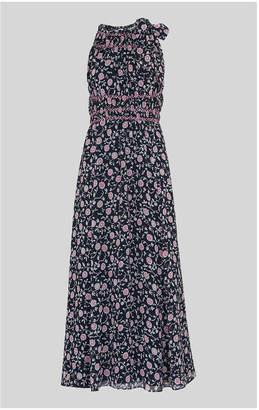 Whistles Marsha Print Midi Dress