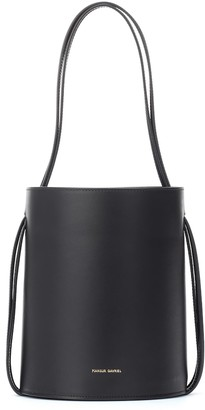 Mansur Gavriel Fringe leather bucket bag