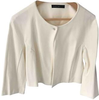 Marc Cain White Jacket for Women