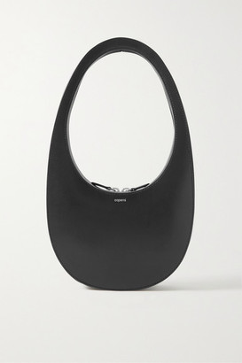 Coperni Swipe Leather Tote - Black