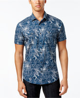 INC International Concepts Men's Constellation-Print Shirt, Only at Macy's