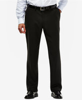 Haggar eCLo Mini Plaid Straight-Fit Dress Pants