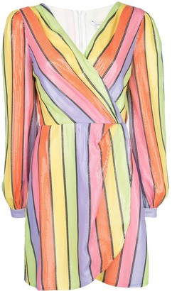Olivia Rubin Striped Shift Dress