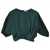 Saint Laurent Green Cotton Top