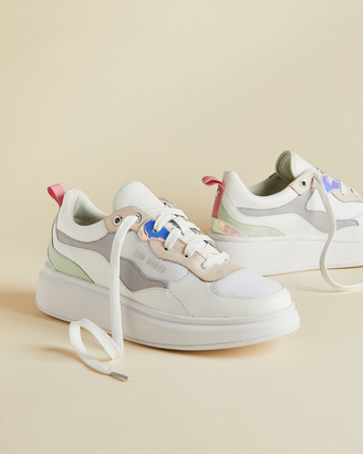 Ted Baker ARELLII Chunky platform iridescent sneakers