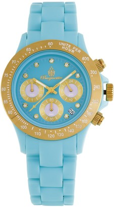 Burgmeister BM514-033 Florida Ladies watch Analogue display Quartz with Seiko Movement - Water resistant Sporty and trendy polycarbonate strap Fashionable women's watch