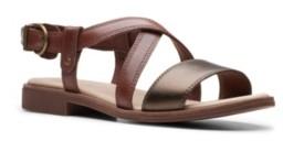 Clarks Collection Women's Declan Spring Flat Sandals Women's Shoes
