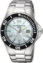 Technomarine Men's 'Manta' Quartz Stainless Steel Casual Watch, Color:Silver-Toned (Model: TM-216004)