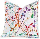 Crayola Splat 18-Inch Square Throw Pillow