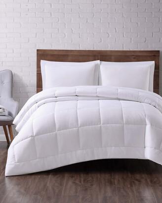 Truly Soft Seersucker Down Alternative Comforter
