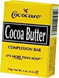 Cococare Cocoa Butter Soap 4 oz. (Pack of 2)