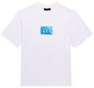 N°21 N21 Kids Liquid Logo T-Shirt