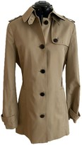 Tommy Hilfiger Beige Cotton Trench Coat for Women
