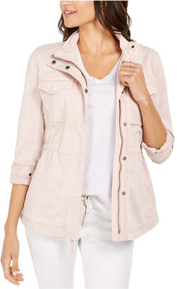 Style&Co. Style & Co Twill Jacket