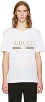 Gucci White Logo T-Shirt