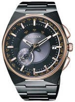 Citizen CC2004-59E Rose Gold Plated and Titanium 45.4mm Mens Watch