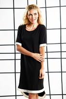 Shabby Apple Bandit Sheath Dress Black