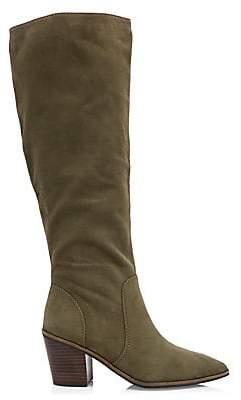 Cole Haan Women's Willa Suede Knee-High Boots