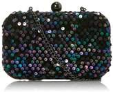 Faith Sequined Box Clutch Bag
