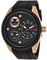 Redline Red Line 10557-RG-01-BB Men's Jetstream Multi-Function Black Silicone and