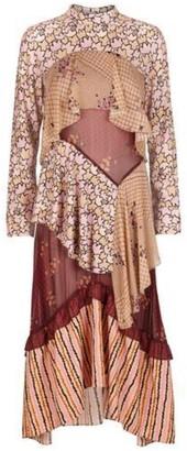 Hofmann - Alix Apricot Long Sleeve Maxi Dress - 36