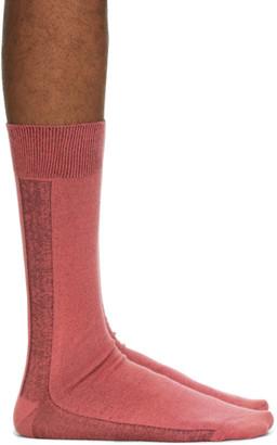 Issey Miyake Pink Border Socks