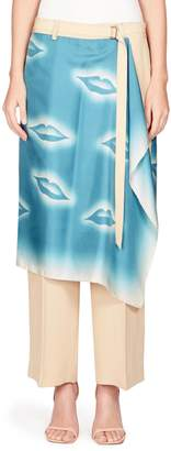 Dries Van Noten Scarf Wrap Skirt Pants