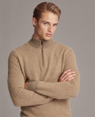 Ralph Lauren Cashmere Half-Zip Sweater