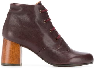 Chie Mihara Mili lace-up ankle boots