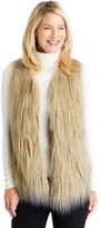 J.Mclaughlin Cane Faux Fur Vest