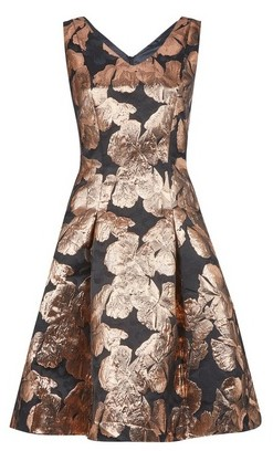 Dorothy Perkins Womens Luxe Rose Gold Prom Dress