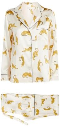 Yolke + Isabell Felui Prowling Leopard Pyjama Set