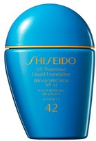 Shiseido Sun Uv Protective Liquid Foundation Spf 42 - Dark Beige