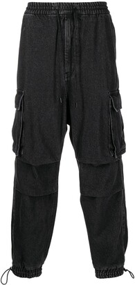 Juun.J Flap-Pocket Cotton Cargo Trousers