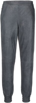 REMAIN Cropped Slim-Cut Trousers