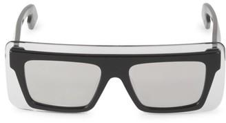 Kenzo 53MM Rectangular Plastic Sunglasses