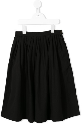 Little Creative Factory Kids Pleated Midi Skirt