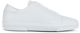 A.p.c. Jaden Leather Tennis Shoes White